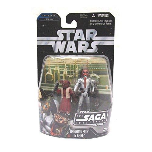 Hasbro Nabrun Leids und Kabe Chalmun`s Cantina TSC072 - Star Wars The Saga Collection 2006
