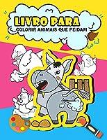 Livro para colorir animais que peidam: Livro para colorir animais peidos engraçados para crianças, presentes engraçados para crianças, livro para colorir peidos