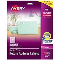 Avery アドレスラベル ゴールドボーダー インクジェットプリンター用 10,000 Labels