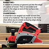 iBELL 82-58, 580W, 16500 RPM Electric Hand Planer( Red) - 6 Months Warranty