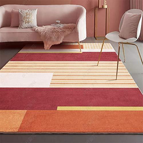 Alfombra nórdica sala de estar sofá alfombra moderna simple dormitorio mesita de noche estera habitación-16,160x230cm, China