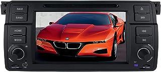 Android 10 Auto GPS Navigation Bluetooth Fahrzeug Stereo mit 7 Zoll Touchscreen für BMW E46 Unterstützung Spiegel Link Radio WiFi / 4G Lenkradsteuerung