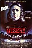 Misery Movie Poster (27 x 40 Inches - 69cm x 102cm) (1990) German -(James Caan)(Kathy Bates)(Lauren Bacall)(Richard Farnsworth)(Frances Sternhagen)(Graham Jarvis)