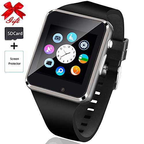 Smart Watch,Touchscreen bluetooth Smartwatch with Call&Message Notification Sync...