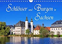Schloesser und Burgen in Sachsen (Wandkalender 2022 DIN A4 quer): Auf Burgen- und Schloessertour in Sachsen (Monatskalender, 14 Seiten )