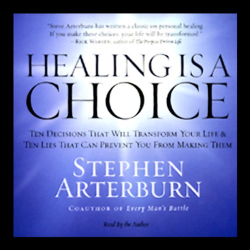 Healing Is a Choice audiobook cover art