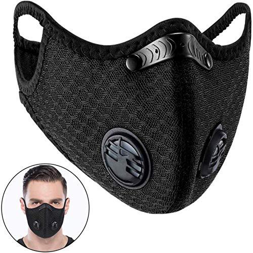 Sport atemmaske feinstaubmaske Gesichtsmaske gegen Verschmutzung waschbar Gesichtsmaske für Luftverschmutzung Verschmutzungsmaske Radfahren