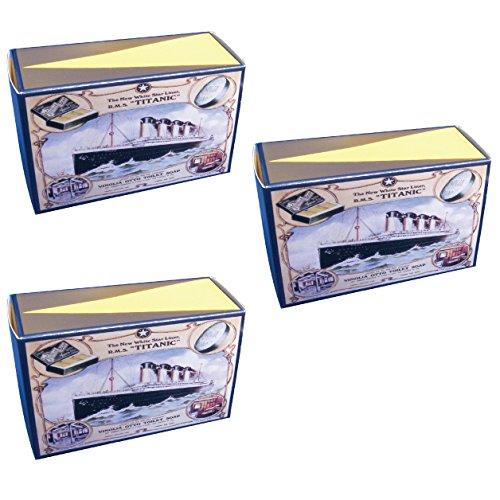3 bars of Vinolia Luxury Cold Cream Soap by Carbolic Soap Co.