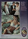 Start with Maidenform Chantilly bra panties slip. Then dare to dream ad 1984