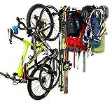 StoreYourBoard Omni Adventure - Estante de Pared para Almacenamiento de Bicicletas, esquís, Camping, Senderismo, Equipo de Escalada, Sistema de Almacenamiento para el hogar y el Garaje