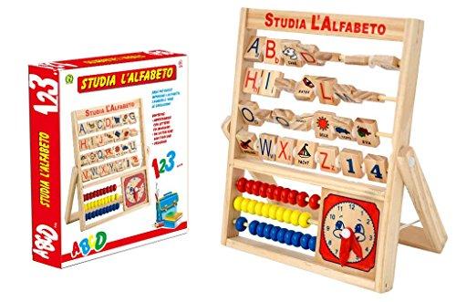 Mazzeo Giocattoli alfabetiere Studia l'alfabeto