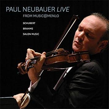 Paul Neubauer Live