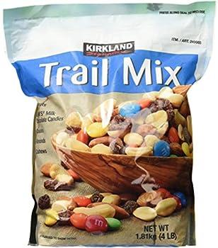 Signature Trail Mix Peanuts M and M Candies Raisins Almonds and Cashews 4 Pound  249965