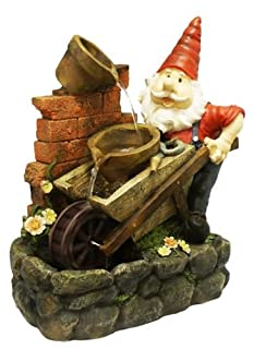 Ambiente Gnome Wheelbarrow Feature Spinning