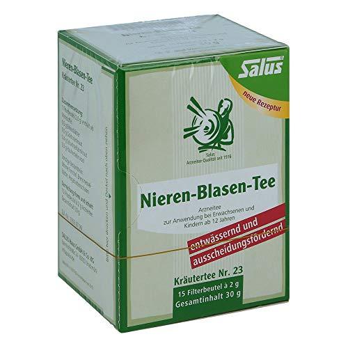 NIEREN BLASEN Tee Kräutertee Nr.23 Salus Fbtl. 15 St Filterbeutel
