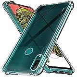 Ferilinso Funda para Huawei P Smart Z [Transparente TPU Silicona Carcasa] [10X Anti-Amarilleo] [Compatible con la Cristal Templado Protector de Pantalla][Anti-arañazos] [Fácil instalación]