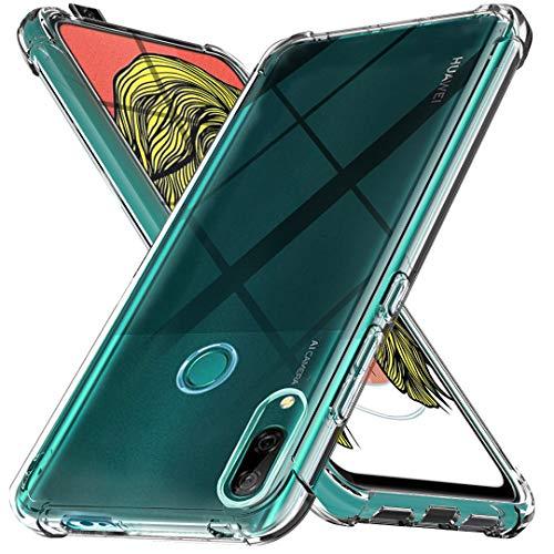 Ferilinso Hülle für Huawei P Smart Z [Kompatibel mit Panzerglas Schutzfolie] [Klar Silikon Handy Hüllen] [Stoßfest Kratzfest ] [Shock Absorption Schutzhülle] [Bumper Crystal] (Transparent)