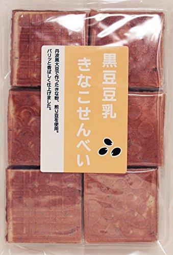 丹波の黒太郎 黒豆豆乳きなこせんべい 24枚入り