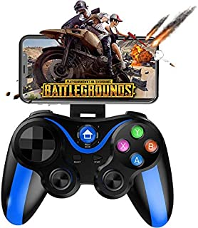 Mobile Gamepad Controller, Megadream Key Mapping Gaming Joysticks Trigger for PUBG/Rules of Survival & More Shooting Fighting Racing Game, for 4-6 inch Android iOS Phone - Direct Play