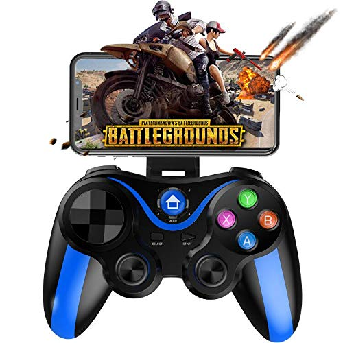 Mobile Gamepad Controller, Megadream Key Mapping Gaming Joysticks Trigger for PUBG/Rules of Survival & More Shooting Fighting Racing Game, for 4-6 inch Android iOS Phone - Do Not Support iOS 13.4