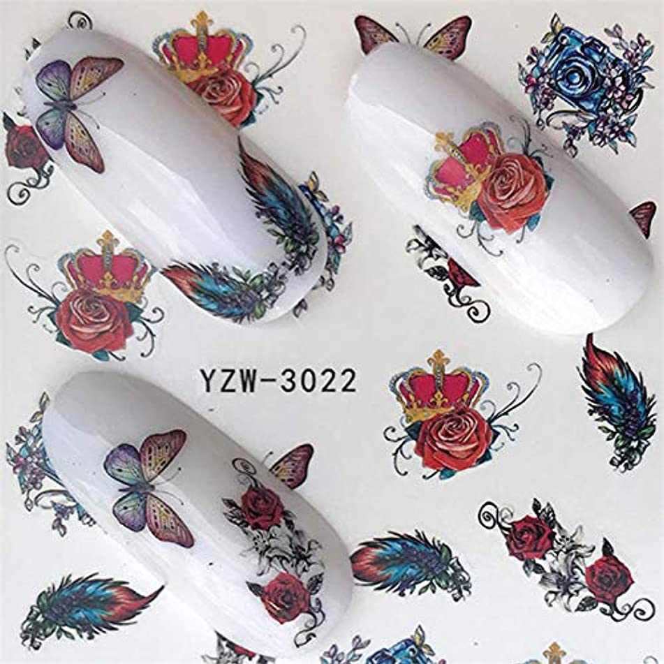Nail Water Sticker Lace/Feather/Lips/Characters Design For Nails Art Decal Slider Wraps Decor Tip Manicure
