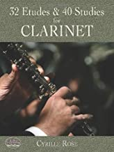 32 Etudes and 40 Studies for Clarinet (Dover Chamber Music Scores)