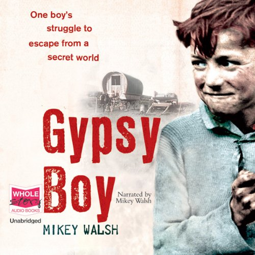 Gypsy Boy audiobook cover art