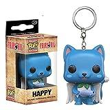 adfw Pop Llavero Fairy Tail Figura De Acción Happy Collection Toys Funko