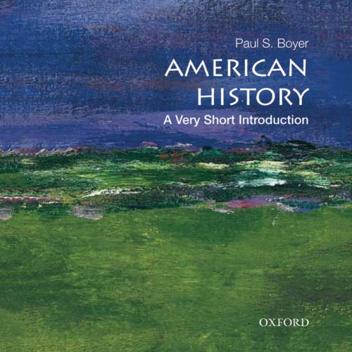 American History: A Very Short Introduction audiobook cover art