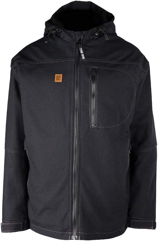 Big Bill Workwear Men's JKT01 American Duck Winter Polar Fleece Lined Hooded Jacket - Made in Canada