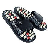 Islandoffer Premium Reflexology Foot Acupressure Massage Slippers (W10.5/M8, 42-43)
