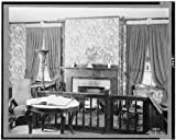 HistoricalFindings Photo: Interior of Abraham Lincoln's Home, Springfield, IL