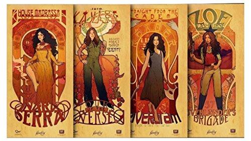 Firefly Serenity Les Femmes Affiche Set