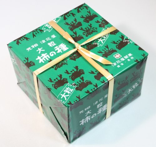 G10 大粒柿の種 進物缶 280g
