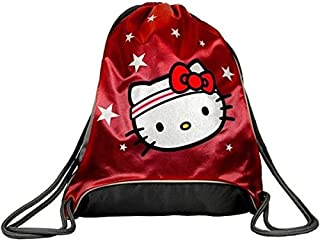 Hello Kitty Sports Sackpack, Red/Black