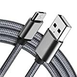 Micro USB Cable 10FT Android charger Cable 2Pack Fast Charging Cord for Motorola Moto E E5 E4 E6S Plus E6 Supra G4 G5 G5S G6 Play, Nexus 6 [NOT for G6 or G6 Plus]