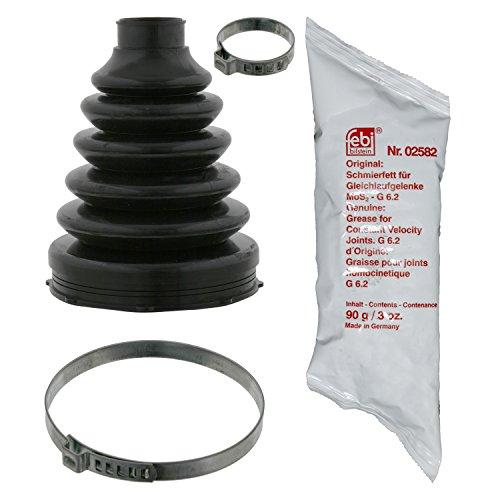 Febi Bilstein 06131 asmanchettenset (vooras, overbrengd) vouwbalg aandrijfas