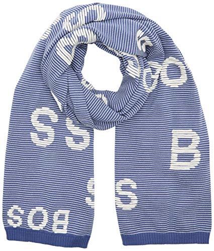 BOSS Casual Damen Nalett Schal, Violett (Dark Purple 504), One Size (Herstellergröße: ONESI)