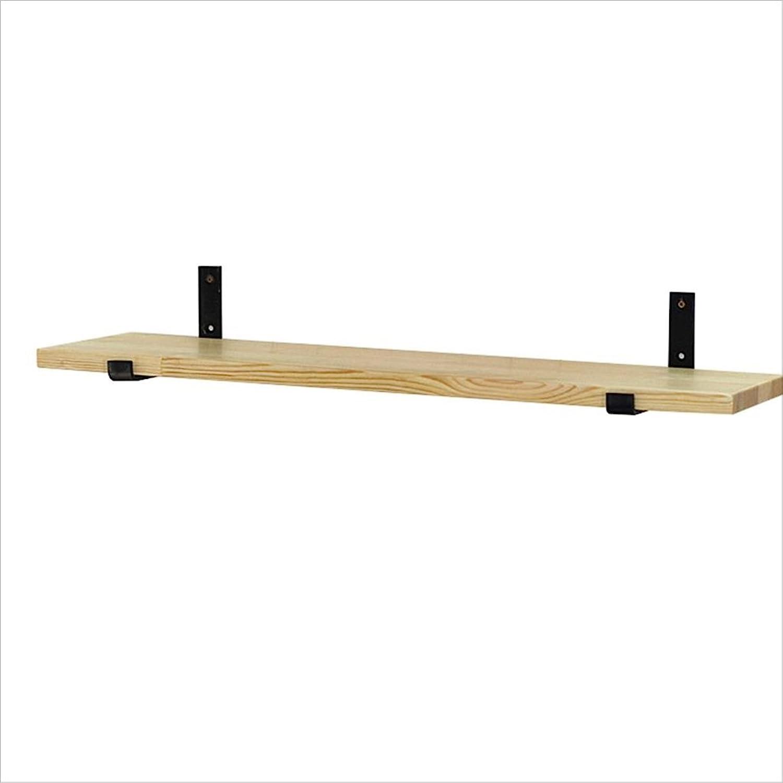 seguro de calidad Estante tablero de pino estante estante estante de parojo de hierro forjado estante de partición ( Talla   60 cm )  entrega gratis