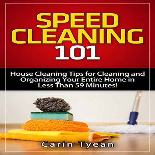 Speed Cleaning 101 audiobook cover art