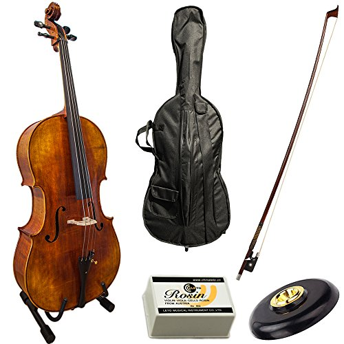 Paititi PTTCE 101 4/4 Size Solid Wood Beginner Cello Kit