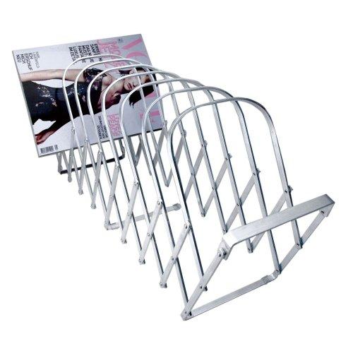 Radius–rastrelliera Porta riviste con 10Scomparti