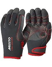 Musto Performance Winter lange vingerhandschoenen Zwart - Volwassenen Unisex - De flexibiliteit blijft behouden, zelfs nadat deze is opgedroogd