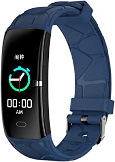 Smart Watch for Android/iOS,Jchen IP67 Waterproof Touchscreen Men Women Heart Rate Blood Pressure Monitor Smart Watch Fitness Sport Smart Watch Best Gift for Birthday or Father's Day (Blue)