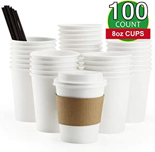 Best disposable coffee cups 8 oz Reviews