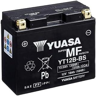 Batterie YUASA YT12B BS (WC) AGM geschlossen, 12V|10Ah|CCA:210A (150x69x130mm) für Ducati 821 Hypermotard Baujahr 2013