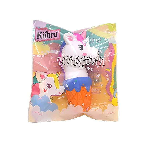 YXJC Fun Toys Squishies, Unicorn ice Cream Squishy, Creamy Aroma Slow Rising Squeeze Toys for Stress Relief (Color : Starry Sky) 8