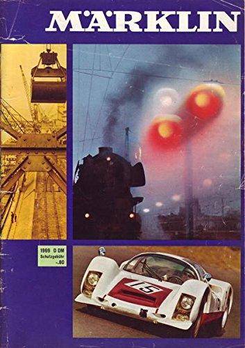 Märklin Katalog 1969 True Vintage Brochure Mit H0 Anlage + Gleisplan