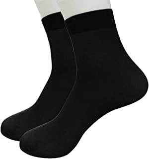 Clearance Sale Men's Cotton Moisture Wicking Extra Heavy Cushion Crew Socks