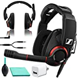 Sennheiser GSP 500 Wired Open Acoustic Gaming Headset, Noise-Cancelling Microphone Bundle